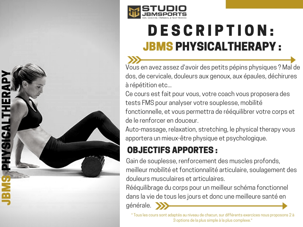 studio jbmsports Physical Therapy